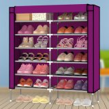 12層Metal Frame Waterproof Cloth Shoe Cabinet (ホーム家具のためのWS16-0047、)