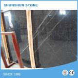 Schwarze Marquina Marmorplatten China-für Wand und Floooring