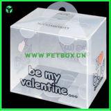 Коробка подарка пластмассы APET упаковывая