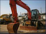 日本元の使用された車輪の掘削機日立Zx160wd