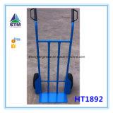 Caminhão de mão resistente da ferramenta de jardim com a roda dois (HT1850)