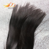 100% 8AペルーのRemyの毛の織り方のまっすぐな人間の毛髪の拡張