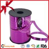 Bande de Curlying de polyester estampée par logo simple de face pour Bithday