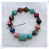 No tóxico Eco-Friendly pequeño corazón Niños perlas pulseras (IO-aj046)