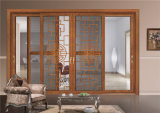 デザインアルミニウムまたはアルミ合金の水平の滑走のサッシュのガラス窓