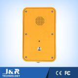 Teléfono resistente a la intemperie, línea directa de teléfono, al aire libre Auto-Dail teléfono, Teléfono de Emergencia