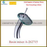 Misturador de bronze da bacia da cachoeira do banheiro sanitário dos mercadorias