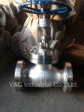 Válvula de globo do aço de molde do API 600 com extremidade da flange