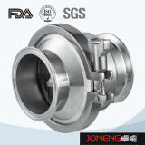 Valvola di ritenuta premuta sanitaria dell'acciaio inossidabile (JN-NRV2002)