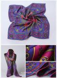 Sjaals van de Voorraad van de Zijde van zak de Vierkante 100%