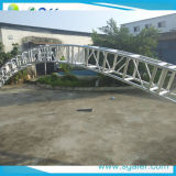 Stage Lighting Roof Truss를 위한 400*500mm Curved Truss