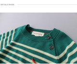 Sweaters van de Wol van Phoebee de Gestreepte 12gg Gebreide voor Jongens