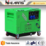generador diesel de la certificación silenciosa del CE 5kw (DG6500SE-N)