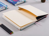 PU de encargo Leather Notebooks de Printing con Pocket