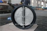 Резиновый Coated двойной задерживающий клапан вафли плиты (H77X-10/16)