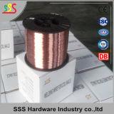 0.60mm-0.80mm galvanisierter Schweißens-Draht für Ring-Nägel