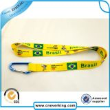 Venta al por mayor Custom Silk Screen Printing Lanyards