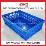 Molde de dobramento do recipiente/caixa da injeção plástica da alta qualidade