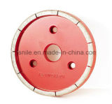 De metal do diamante-Bond quadratura da roda (300 milímetros Compatível com Zhuodi Machine)