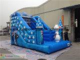 Diapositiva inflable de la venta caliente, diapositiva congelada inflable del cartón