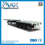 Container Transporter를 위한 40t 3 Axle 20FT Flatbed Trailer