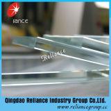 el vidrio ultra claro/bajo de 8m m plancha el vidrio de cristal/transparente del vidrio/Cristal