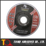 "Metal 41/2 "" x1/4 "" x7/8 ""를 위한 T27 Depressed Center Grinding Disc"