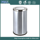 Hot Sale Public Cheap Stainless Steel Swing Lid Indoor Recicle lixeira