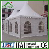 De mobiele Tent van het Paviljoen van de Wind van de Stof van pvc van het Bewijs van de Wind Witte Bestand