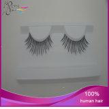 Cils faux de vente chauds de cheveux humains de beauté