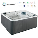 Drain 코너 위치 및 Acrylic Material 6 Person Deluxe Balboa Outdoor SPA Hot Tub