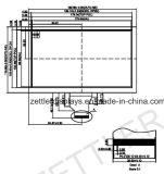 """modulo della visualizzazione di 8 """" TFT, schermo di TFT con l'interfaccia di RGB: ATM0800d6"""