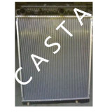 per Benz New Axor Auto Cooling System Aluminum Radiator