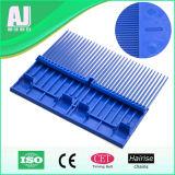 plaque de peigne 1000-32t en plastique pour la courroie modulaire de convoyeur