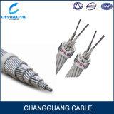 24 câbles plaqué en aluminium aérien de fil de terre de transmission de câble de SM Opgw de faisceaux