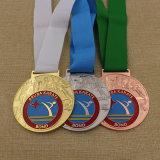 高品質の昇華リボンの最もよいチアリーディング選手権メダル