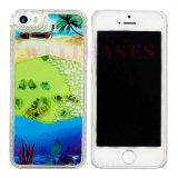 iPhone 5/6/6plusのための携帯電話の箱を滴らせる新しい到着オイル