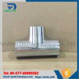 Sanitaire en acier inoxydable SS304 Equal Tee poli miroir (DEYI-T 01)