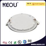 Панель СИД 12W 18W круглое 6500k СИД Downlight фабрики ISO9001