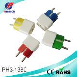 Potencia Adatper y Socket Plug para la CA Adatptor (pH3-1380)
