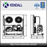 Luft abgekühltes Bitzer Kolben-Kompressor-Gerät für Kühlraum