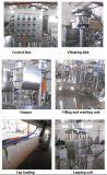 Tribune op de Machines van de Verpakking van de Zak met Spuiten voor Vloeistoffen/de Pijp die van de Zuiging en het Afdekken Machine vullen