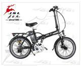 """Foldableポータブル20の"""" 36Vリチウム電池の黒の自転車TUV (JSL039X-3)"""