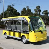 La Cina Manufacture 11 Seats Electric Sightseeing Bus per Square (DN-11)