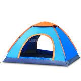 3-4人のキャンプテント、自動速度手の投げるテント