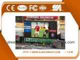 Hohe Auflösung, die im Freienstadion P10 LED-Bildschirmanzeige bekanntmacht
