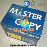 papier réutilisé de copie principale de taille de 80GSM A4 pour Garantie Ecriture