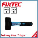 Handtool 1000g Fixtec облицовывая молоток с ручкой стекла волокна