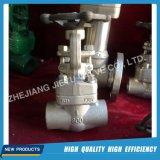 Válvula de porta forjada do aço inoxidável F304/F316/F316L