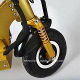 2개의 전기 스쿠터를 접히는 바퀴에 의하여 자동화되는 스케이트보드 전기 접히는 스케이트보드
